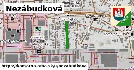 ilustrácia k Nezábudková, Komárno - 153m