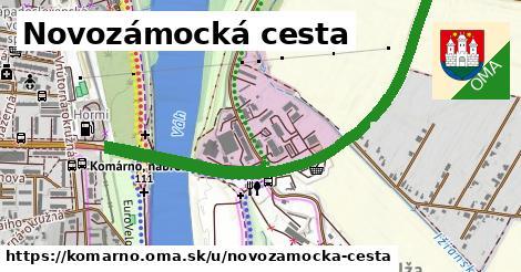 ilustračný obrázok k Novozámocká cesta, Komárno