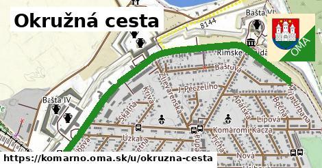 ilustrácia k Okružná cesta, Komárno - 1,49km