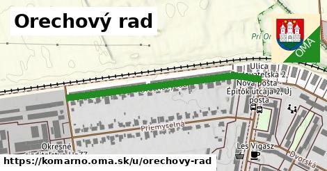 ilustrácia k Orechový rad, Komárno - 453m