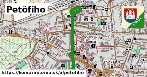 ilustrácia k Petöfiho, Komárno - 1,01km