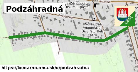 ilustrácia k Podzáhradná, Komárno - 674m