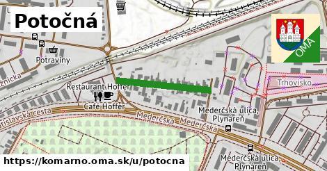 ilustračný obrázok k Potočná, Komárno