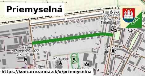 ilustrácia k Priemyselná, Komárno - 478m