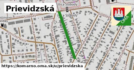 ilustrácia k Prievidzská, Komárno - 277m