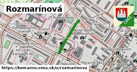 ilustrácia k Rozmarínová, Komárno - 217m