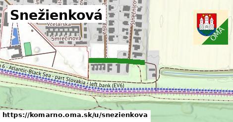 ilustrácia k Snežienková, Komárno - 165m