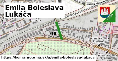 ilustrácia k Emila Boleslava Lukáča, Komárno - 0,78km