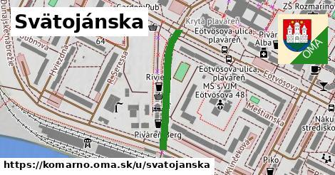 ilustrácia k Svätojánska, Komárno - 275m