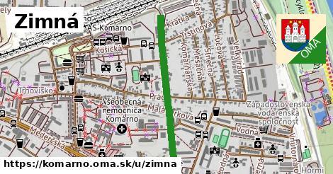 ilustrácia k Zimná, Komárno - 652m