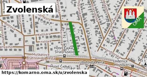 ilustrácia k Zvolenská, Komárno - 175m