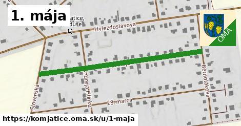 ilustračný obrázok k 1. mája, Komjatice