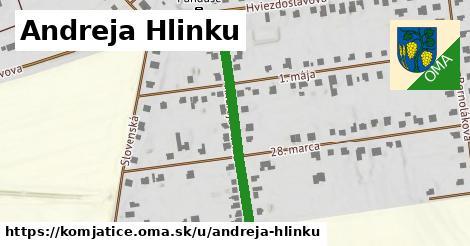 ilustrácia k Andreja Hlinku, Komjatice - 360m