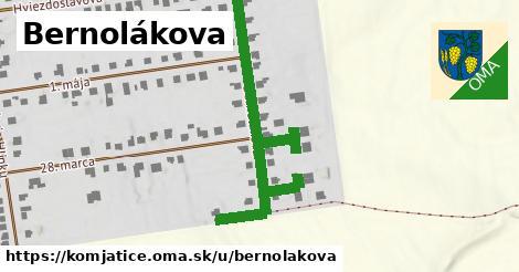 ilustračný obrázok k Bernolákova, Komjatice
