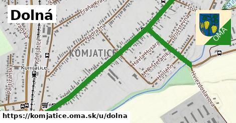 ilustračný obrázok k Dolná, Komjatice