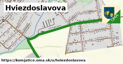 ilustračný obrázok k Hviezdoslavova, Komjatice