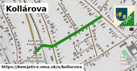 ilustrácia k Kollárova, Komjatice - 434m