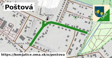 ilustrácia k Poštová, Komjatice - 507m