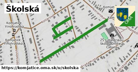 ilustrácia k Školská, Komjatice - 431m