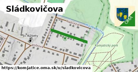 ilustrácia k Sládkovičova, Komjatice - 209m