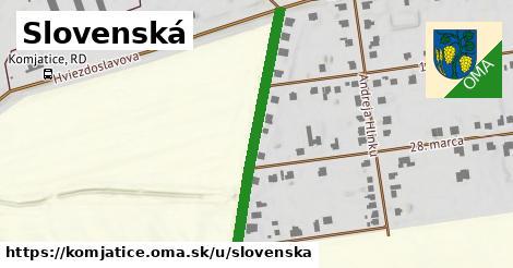 ilustrácia k Slovenská, Komjatice - 376m