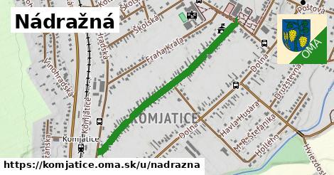 ilustrácia k Nádražná, Komjatice - 0,86km