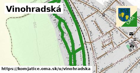 ilustračný obrázok k Vinohradská, Komjatice