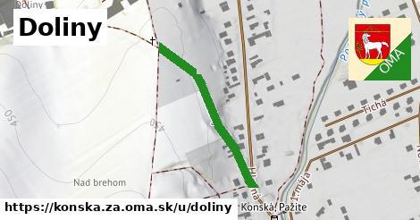 ilustrácia k Doliny, Konská, okres ZA - 302m
