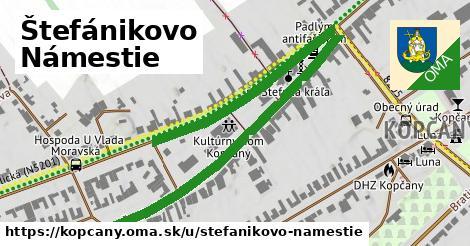 ilustrácia k Štefánikovo námestie, Kopčany - 0,96km