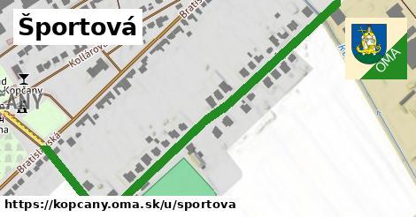 ilustrácia k Športová, Kopčany - 0,94km