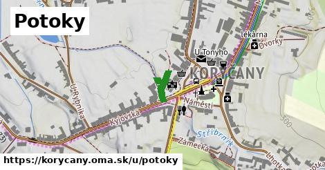 ilustrácia k Potoky, Koryčany - 102m