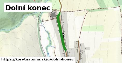 ilustrácia k Dolní konec, Korytná - 477m