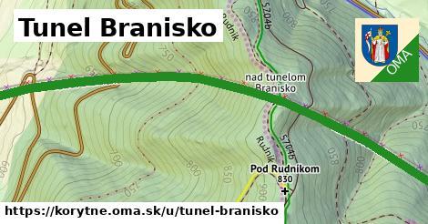 ilustrácia k Tunel Branisko, Korytné - 1,95km