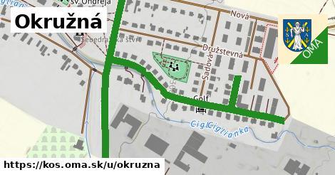 ilustrácia k Okružná, Koš - 0,88km