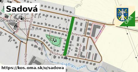 ilustrácia k Sadová, Koš - 213m