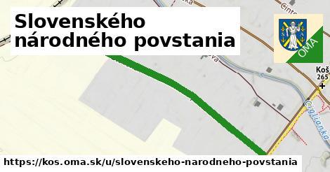 ilustrácia k Slovenského národného povstania, Koš - 552m