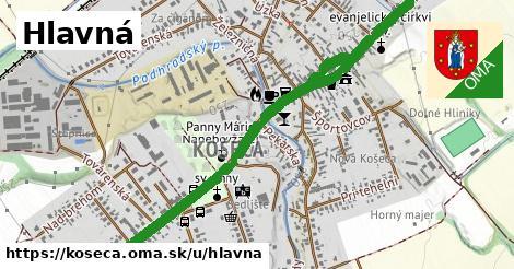ilustračný obrázok k Hlavná, Košeca