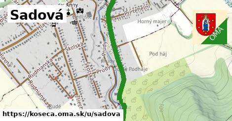 ilustrácia k Sadová, Košeca - 1,26km