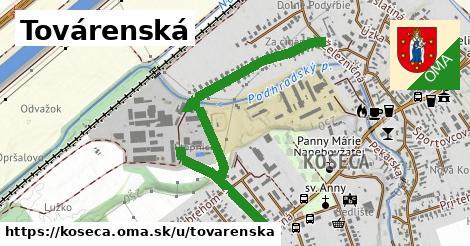 ilustrácia k Továrenská, Košeca - 1,17km
