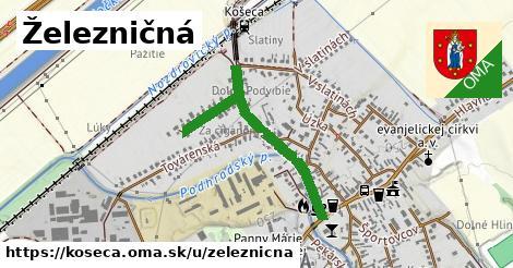 ilustrácia k Železničná, Košeca - 0,72km