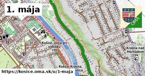 ilustračný obrázok k 1. mája, Košice