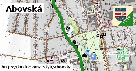 ilustračný obrázok k Abovská, Košice