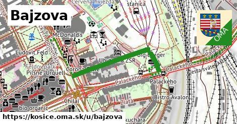 ilustrácia k Bajzova, Košice - 334m