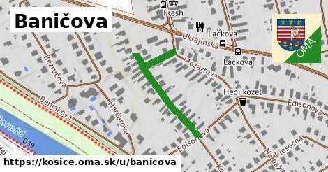 ilustrácia k Baničova, Košice - 318m