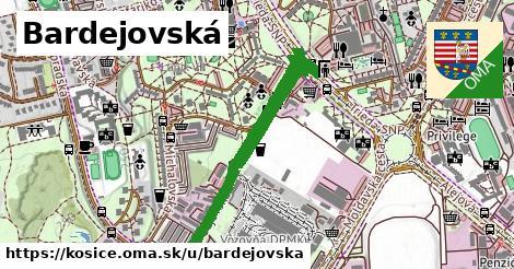 ilustrácia k Bardejovská, Košice - 1,27km