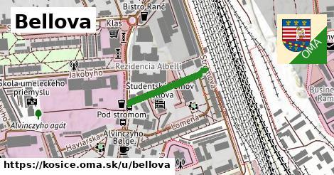 ilustrácia k Bellova, Košice - 195m