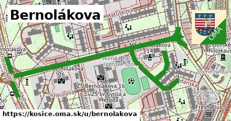ilustračný obrázok k Bernolákova, Košice