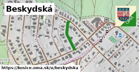 ilustrácia k Beskydská, Košice - 169m