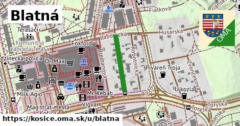 ilustrácia k Blatná, Košice - 175m