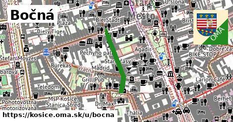 ilustrácia k Bočná, Košice - 206m